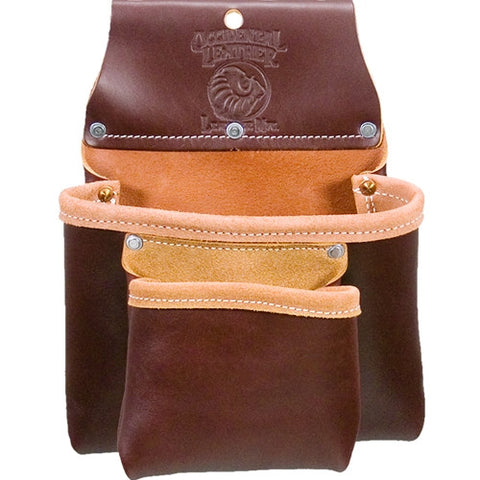 Occidental Leather 5023B Two Pouch Bag