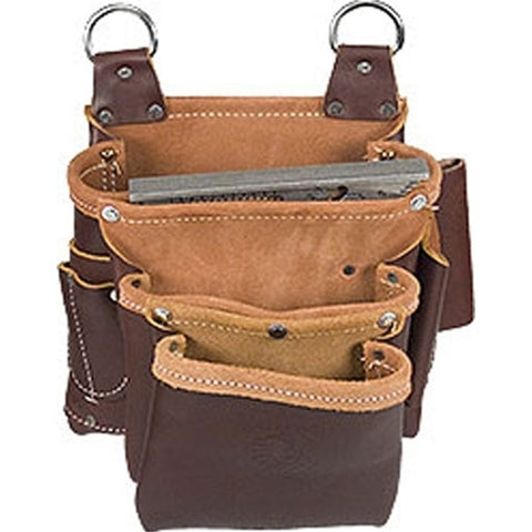Occidental Leather 5063 Beltless 4 Pouch Pro Fastener Bag
