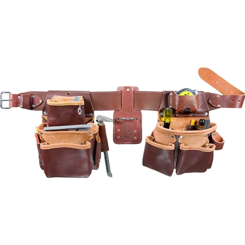 Occidental Leather 5080DBLHSM Small Left Handed Pro Framer Set with Double Outer Bag