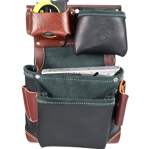 Occidental Leather B5611 Green Builder Fastener Bag - In Black
