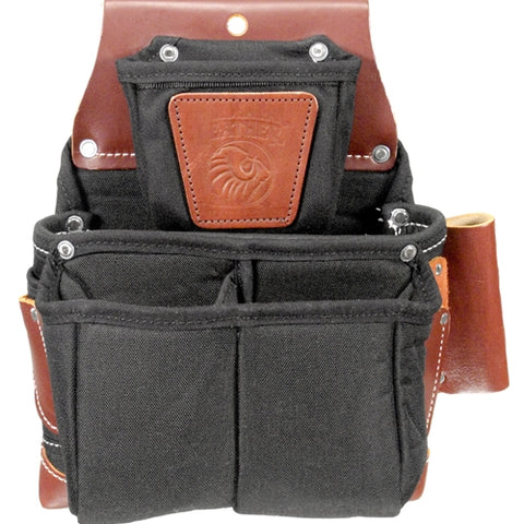 Occidental Leather B8064LH Left Handed OxyLights Fastener Bag with Double Outer Bag