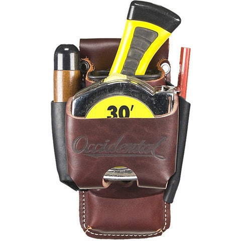 Leather Belt Worn 4-in-1 Tool/Tape Holder 5522