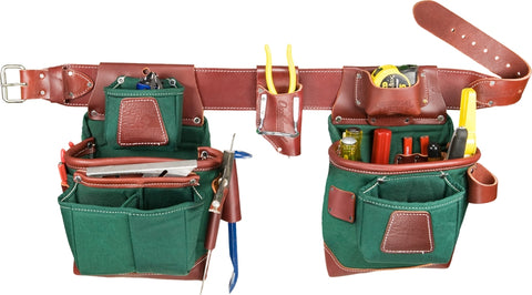 Occidental Leather 8585XL Extra Large Heritage FatLip Tool Bag Set