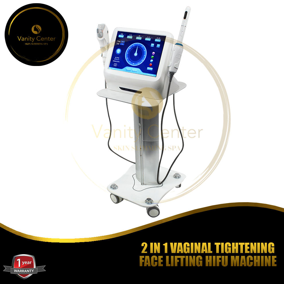 2 in 1 Vaginal Tightening Face Lifting HIFU Machine