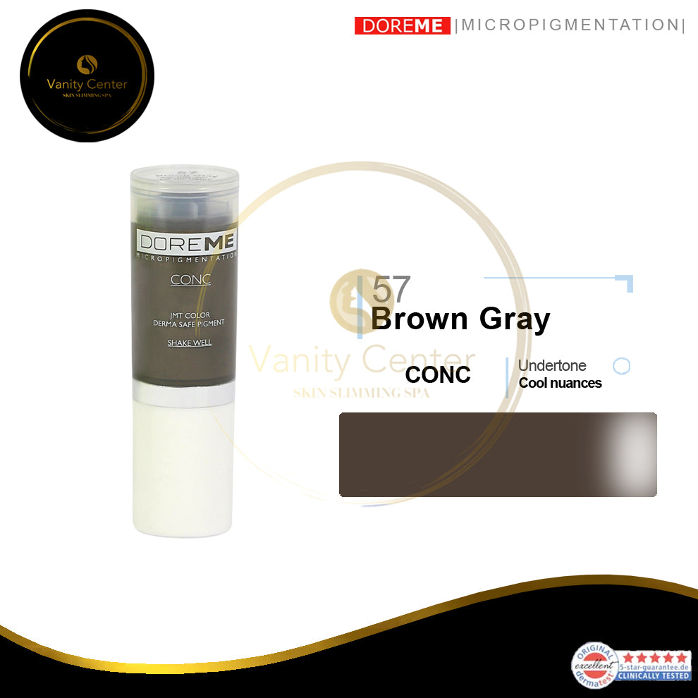 DOREME 57 - Brown Gray
