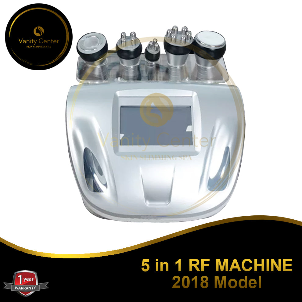 5 in 1 RF Machine 2018 Model
