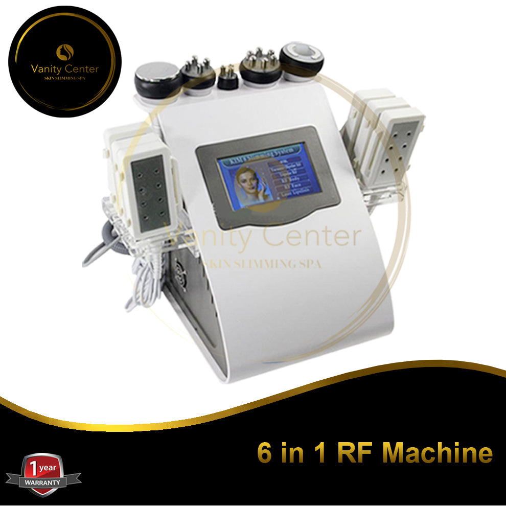 6 IN 1 RF Machine