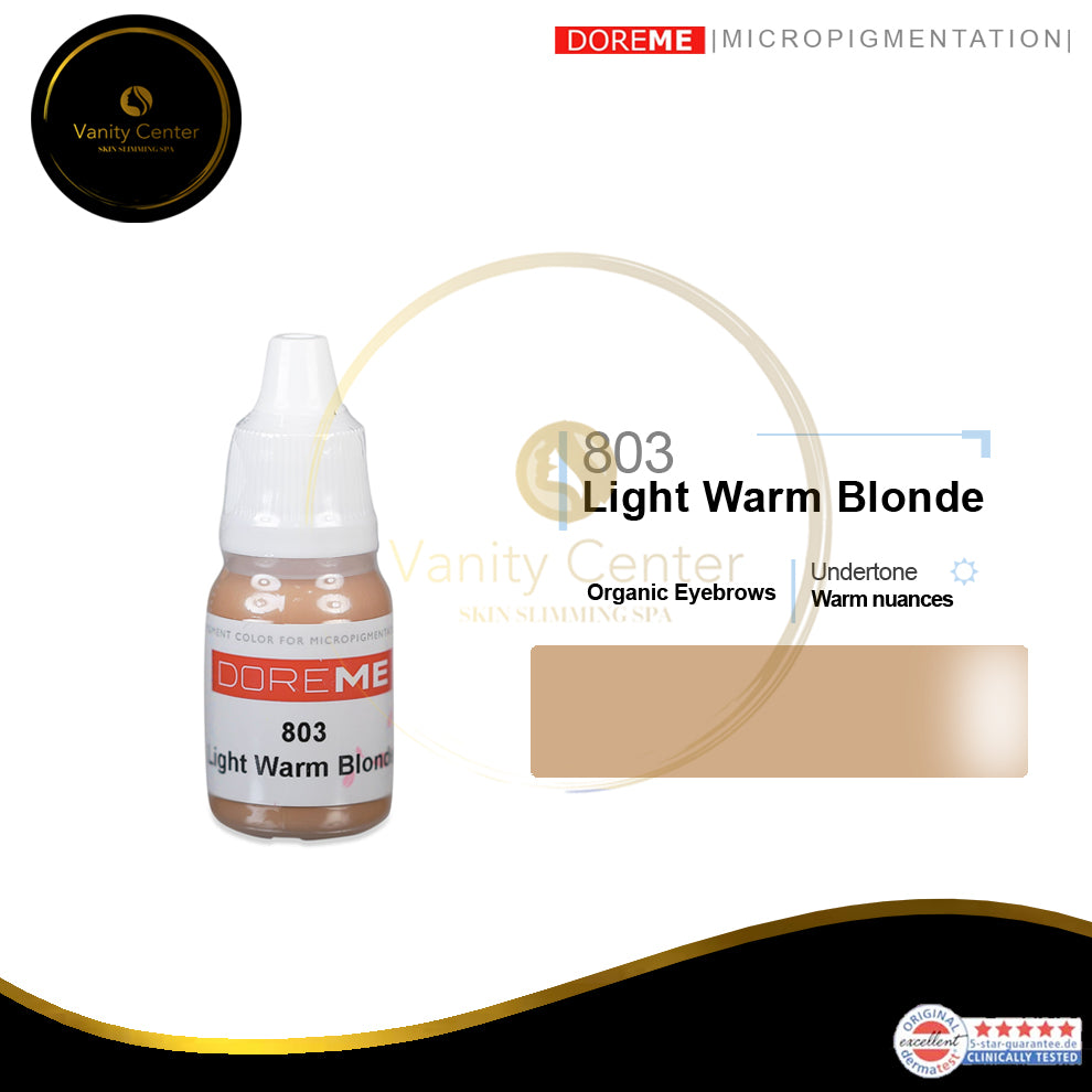 DOREME 803 Light Warm Blonde