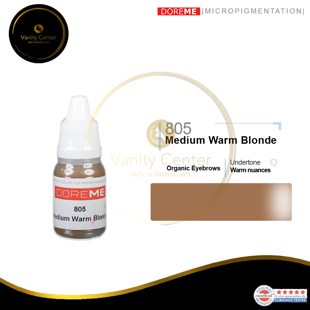 DOREME 805 Medium Warm Blonde