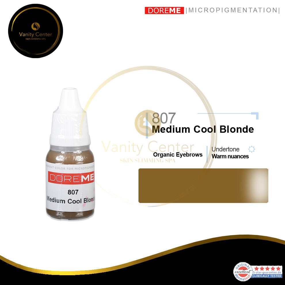 DOREME 807 Medium Cool Blonde