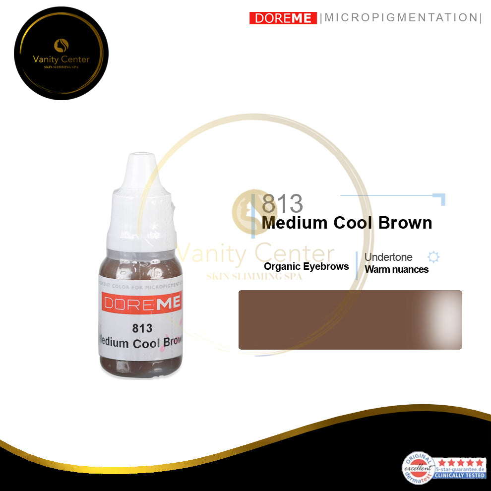 DOREME 813 Medium Cool Brown