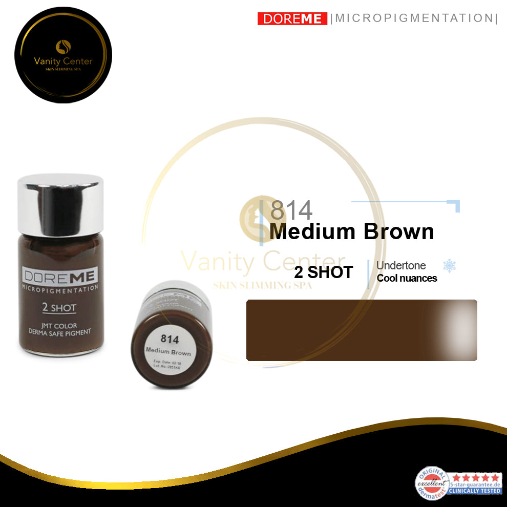 DOREME 814 Medium Brown