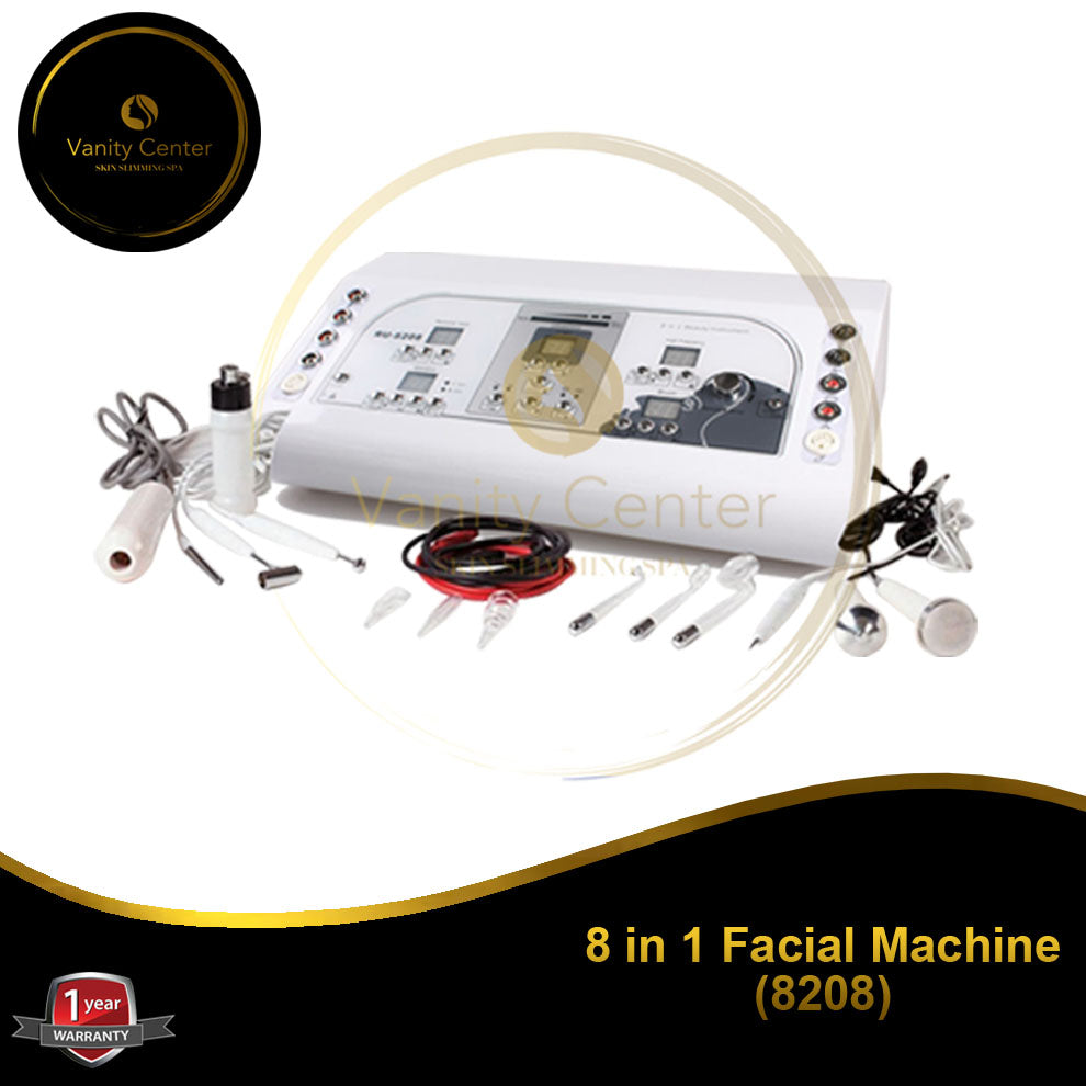 8 in 1 Facial Machine