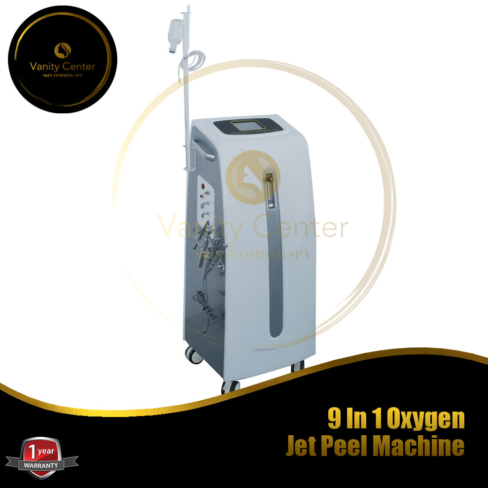 9 In 1 Oxygen Jet Peel Machine