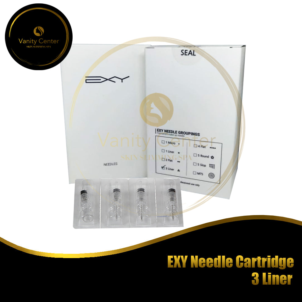 EXY Needle Cartridge 3 Liner 15pcs/box
