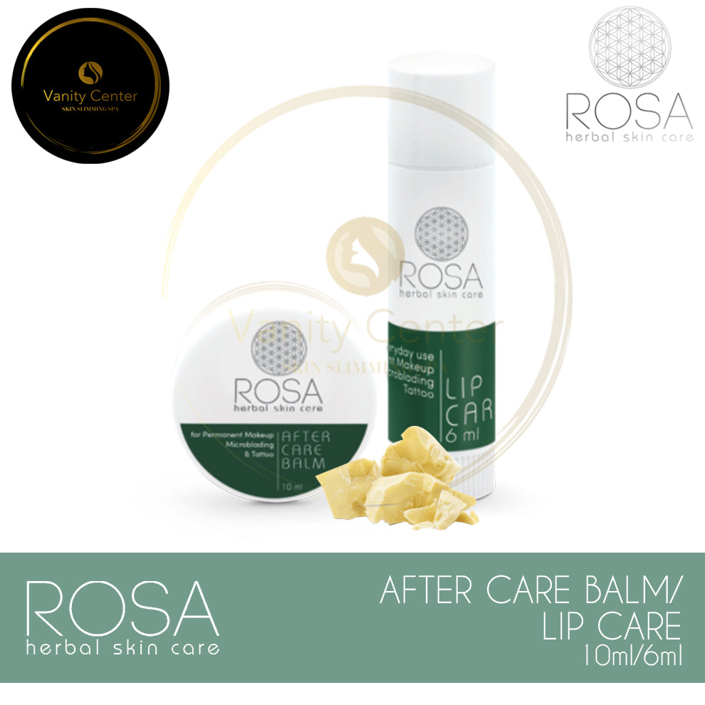 ROSA Herbal Skin Care After Care Balm 10ml / Lip Balm 6ml