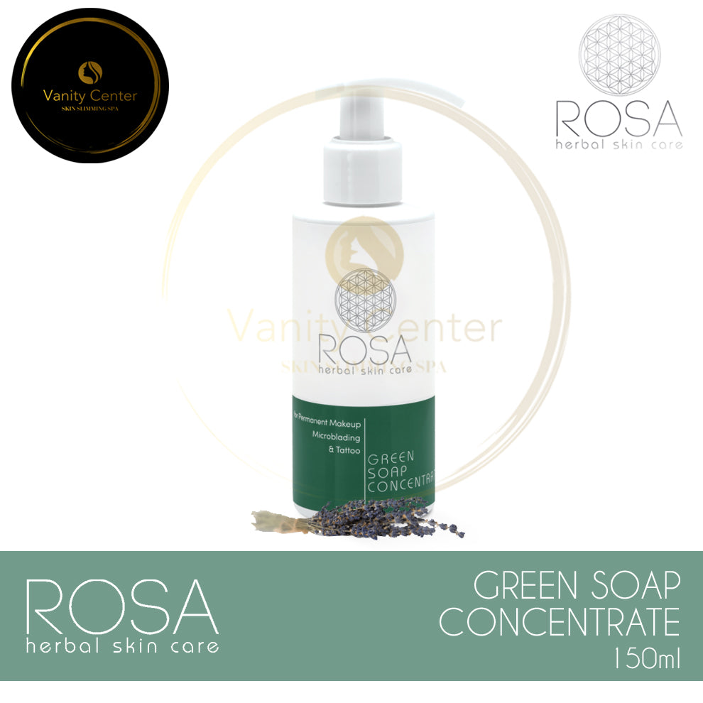 ROSA Herbal Skin Care Green Soap Concentrate 150ml