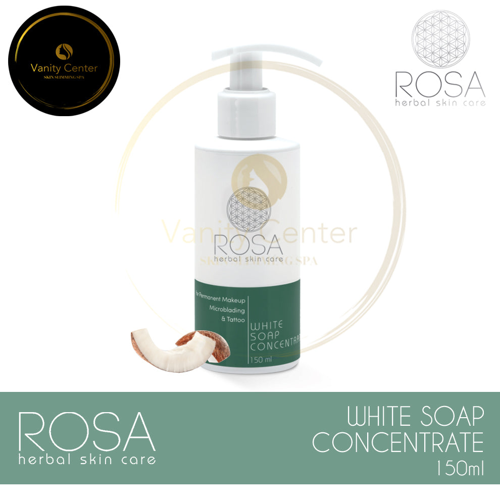 ROSA Herbal Skin Care White Soap Concentrate 150ml
