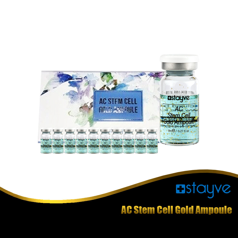 Stayve AC Stem Cell Gold Ampoule 10pcs/box