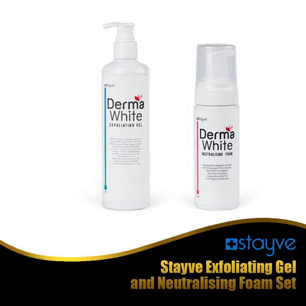 Stayve Exfoliating Gel and Neutralising Foam Set