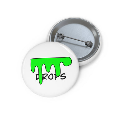 Drops Official First Design, Pin Buttons
