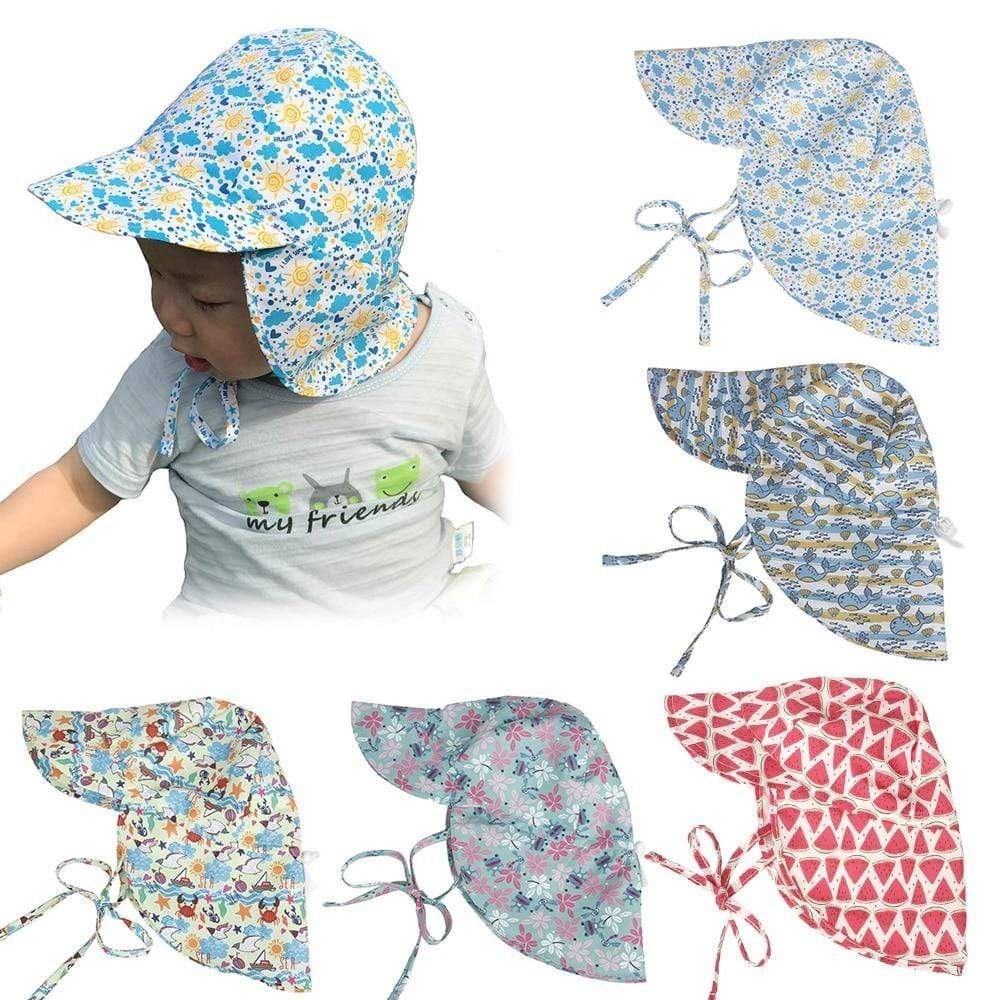 Shop Adjustable Anti-UV Baby Summer Hat - Blissful Baby Co