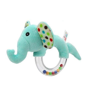 Shop Animal Hand Bells Baby Rattle Plush Toys - Blissful Baby Co