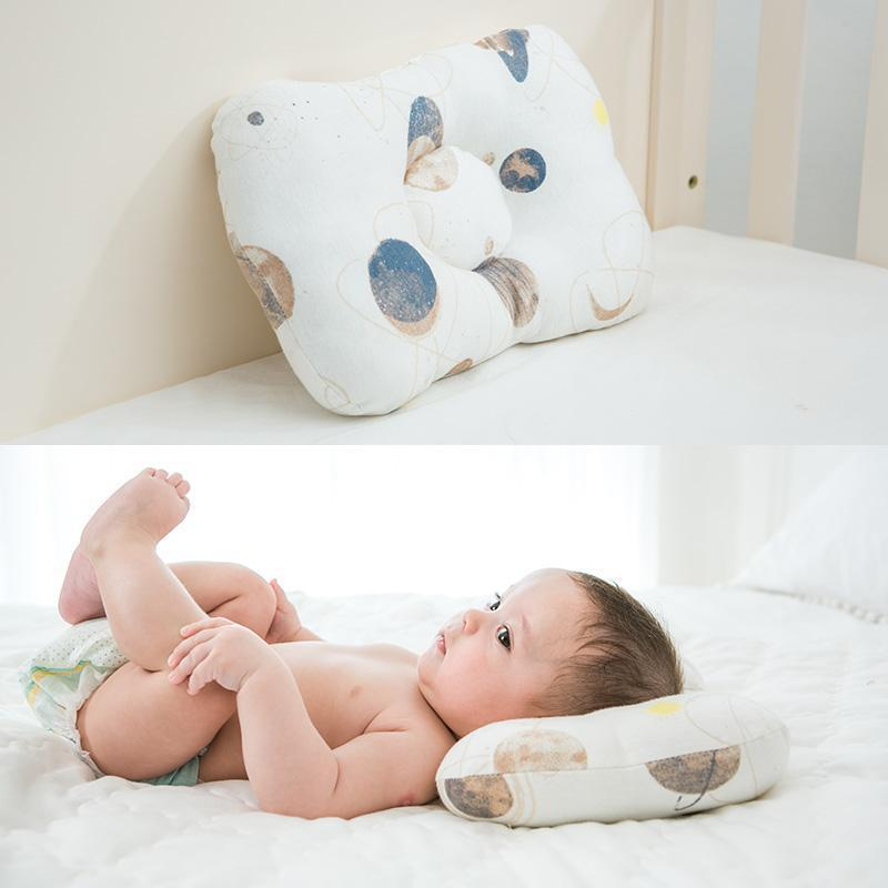 Shop Baby 2 in 1 Pillow - Anti Roll & Anti Deformity - Blissful Baby Co