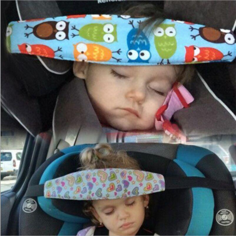 Baby Car Seat Head Support Safety Belt - Blissful Baby Co