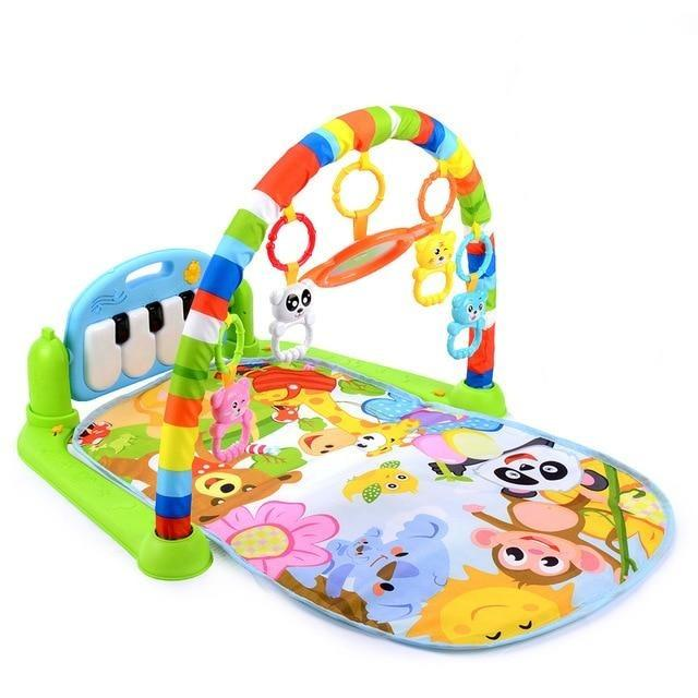 Baby Gym Educational Musical Fitness Play Mat - Blissful Baby Co