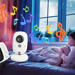 Shop Baby Nanny Security Camera - 3.2 Inch High Resolution - Blissful Baby Co