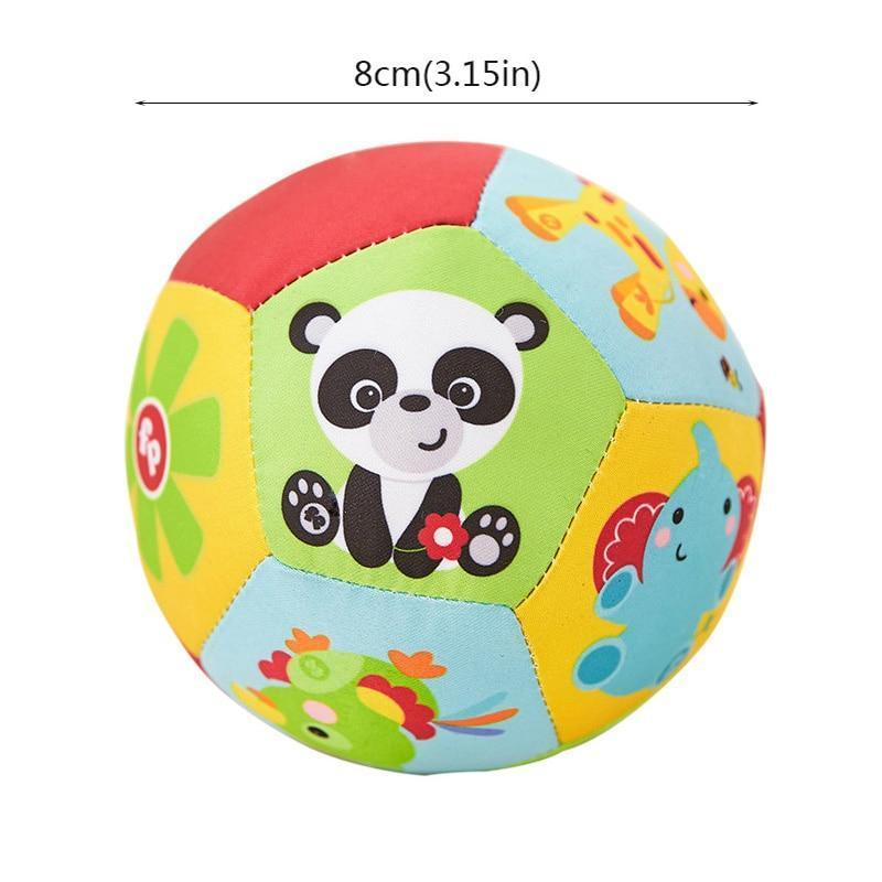 Shop Baby Rattle Soft Plush Ball - Blissful Baby Co