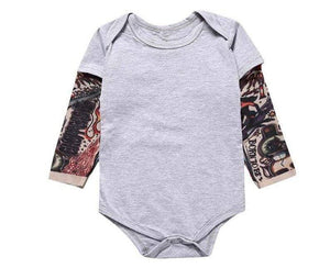 Baby Tattooed Sleeves Onesie - Blissful Baby Co