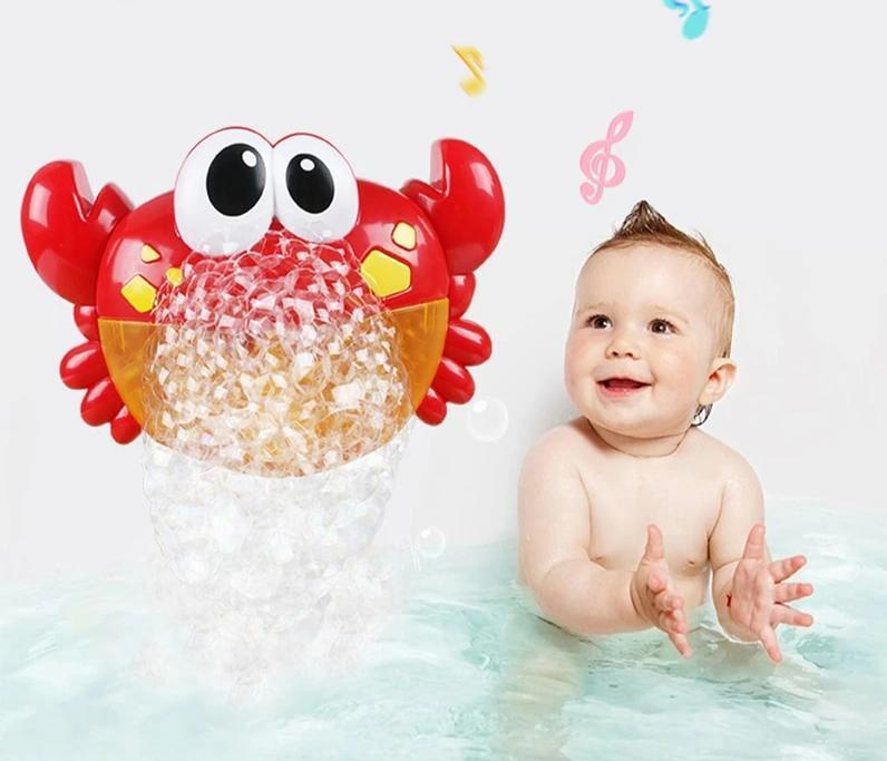 Bubble Crabs Baby Bath Toy - Blissful Baby Co