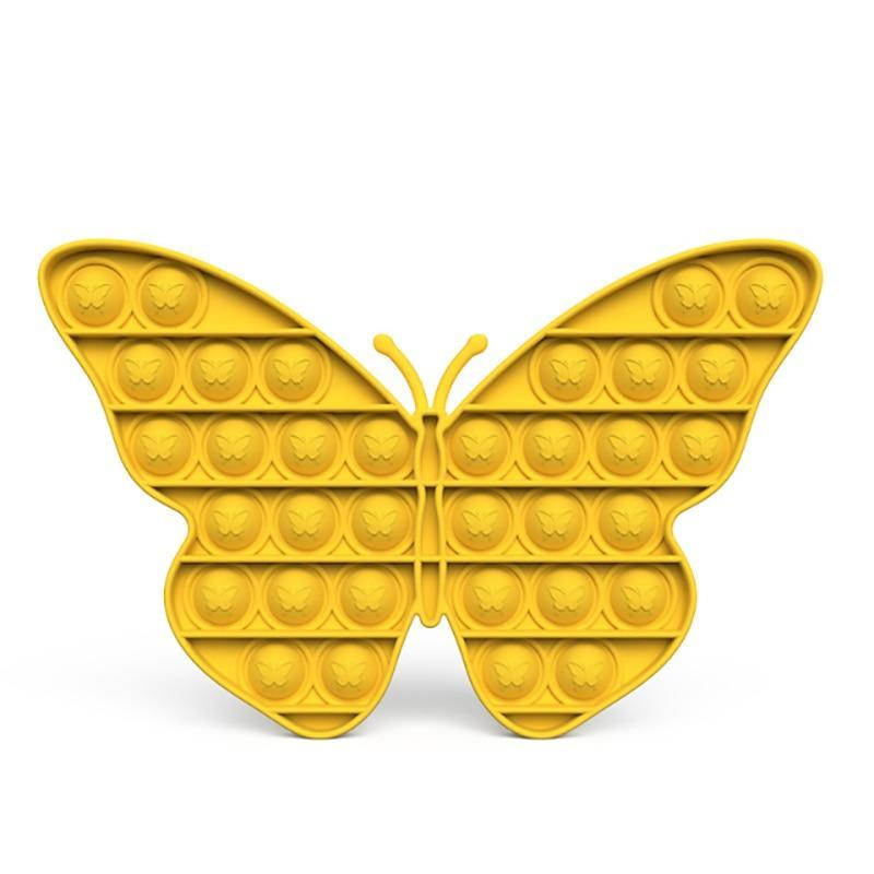 Butterfly - Pop It Fidget Toy Yellow Toshi Stationery 200388157