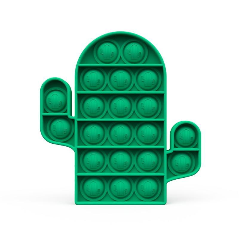 Cactus - Pop It Fidget Toy Green Toshi Stationery 200388157