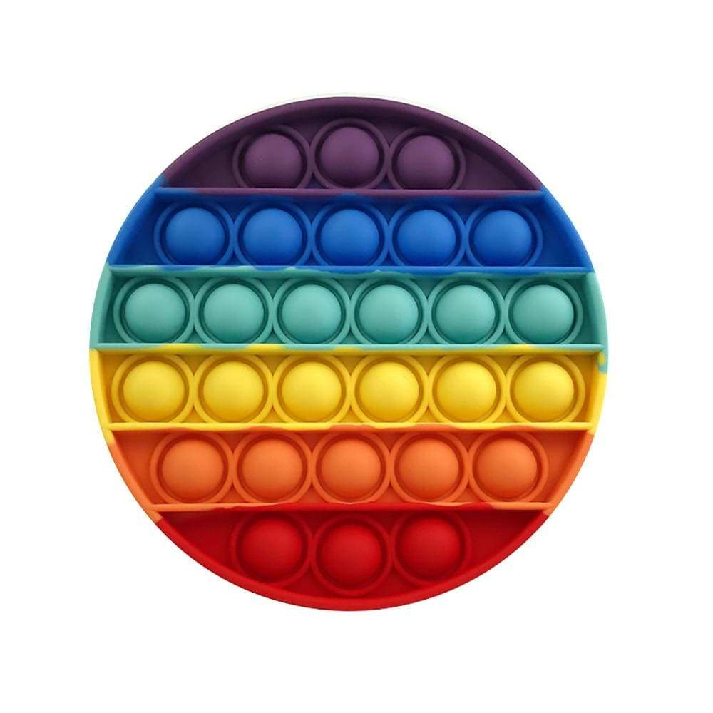 Circle - Pop It Fidget Toy Rainbow Toshi Stationery 200388157