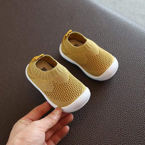 ComfortPlus Mesh-Knit Baby Firstwalker Shoes - Blissful Baby Co