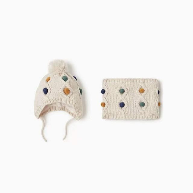 Shop Cute Animals Baby Beanie & Scarf Combo Set - Blissful Baby Co