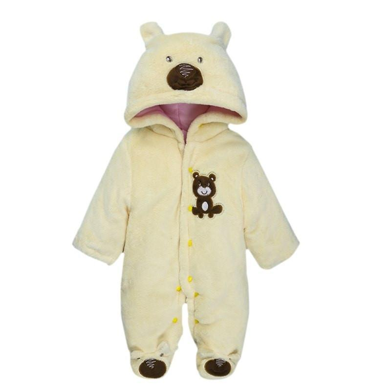 Shop Cute Hooded Bear Baby Onesie Outfit - Blissful Baby Co