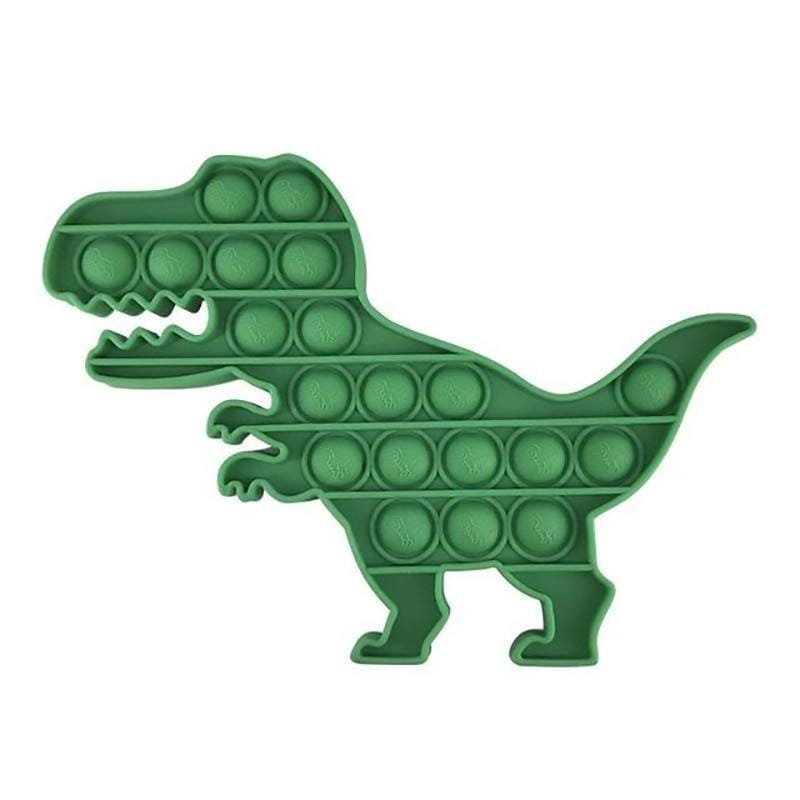 Dino - Pop It Fidget Toy Green Toshi Stationery 200388157
