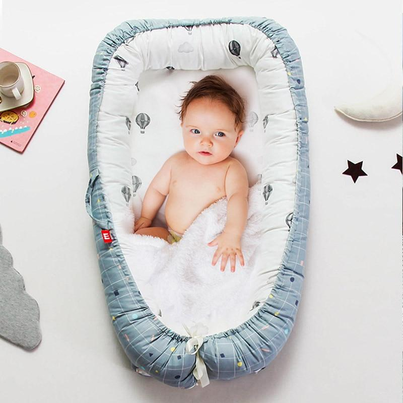 Double-Sided Baby Nest Bed 2.0 - Improved & More Comfortable - Blissful Baby Co