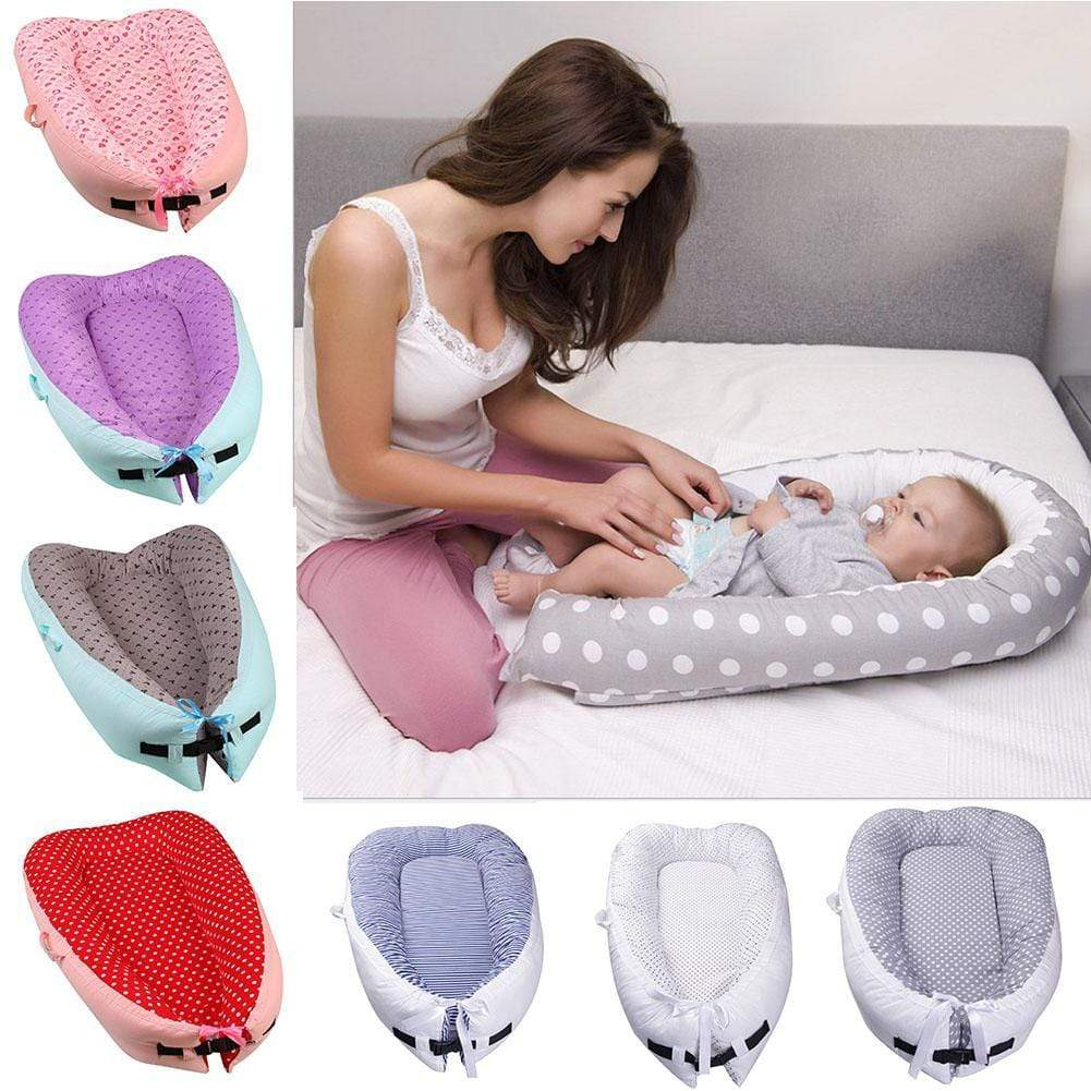 Shop Double-Sided Baby Nest Bed - Blissful Baby Co