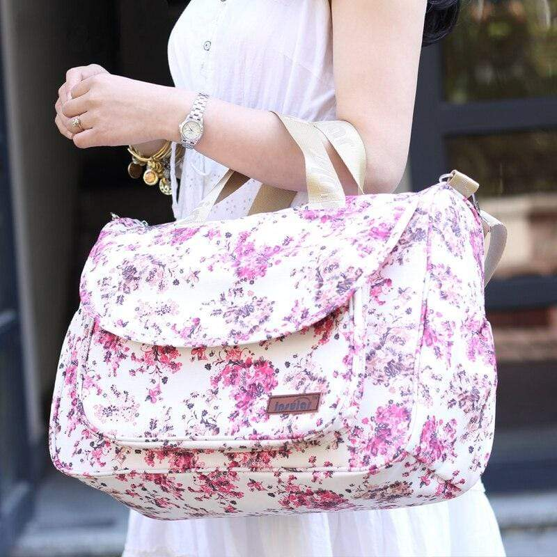 Insular Floral Diaper Bags for Moms - Blissful Baby Co