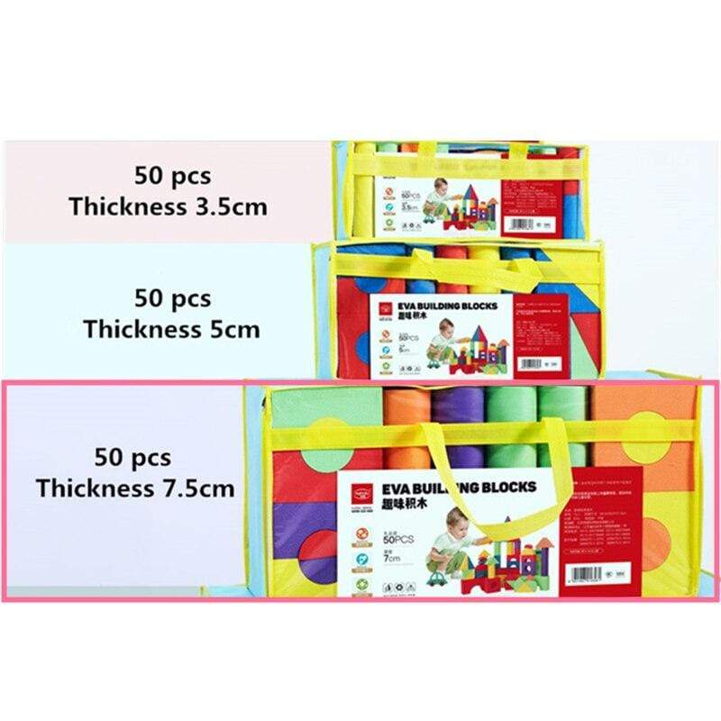 Shop Kids' Giant Foam Blocks Toy Set - Blissful Baby Co