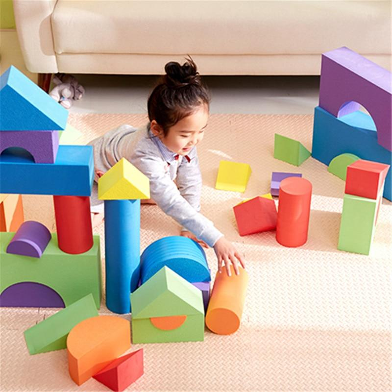 Kids' Giant Foam Blocks Toy Set - Blissful Baby Co