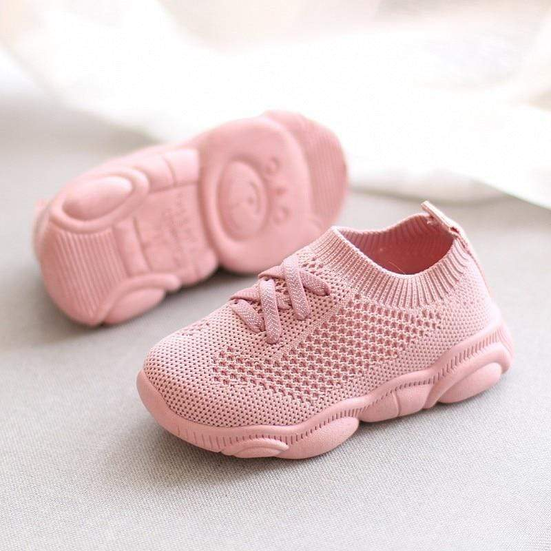 Shop Lace-Up Mesh-Knit Baby Shoes - Blissful Baby Co