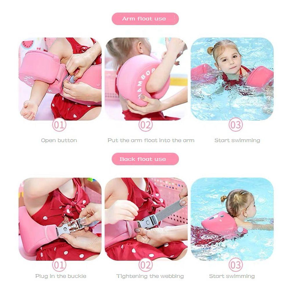 Shop Mambo™ Non-Inflatable Arm Float Swim Trainer - Blissful Baby Co