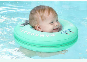 Shop Mambo Non-Inflatable Neck Float Ring Swim Trainer - Blissful Baby Co