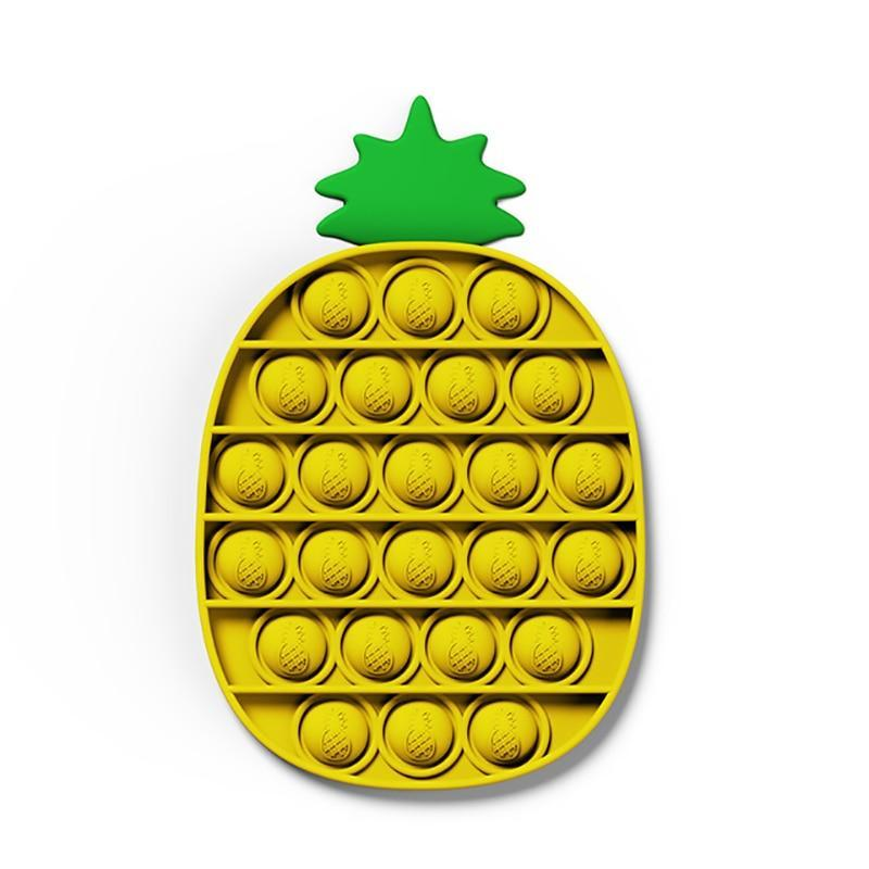 Pineapple - Pop It Fidget Toy Yellow Toshi Stationery 200388157